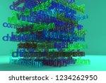 education related keywords...   Shutterstock . vector #1234262950