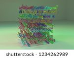 keywords cloud  motivation...   Shutterstock . vector #1234262989