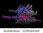 3d rendering. cgi typography...   Shutterstock . vector #1234263169