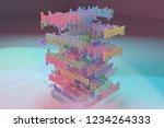 3d rendering. keywords cloud ...   Shutterstock . vector #1234264333