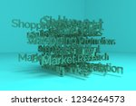 keywords cloud  business or...   Shutterstock . vector #1234264573