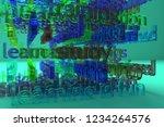 keywords cloud  education...   Shutterstock . vector #1234264576