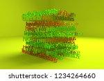 3d rendering. background...   Shutterstock . vector #1234264660