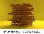 cgi typography  keywords cloud  ...   Shutterstock . vector #1234264663