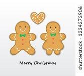 illustration vector couple love ... | Shutterstock .eps vector #1234273906