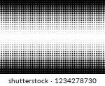 gradient dots background.... | Shutterstock .eps vector #1234278730