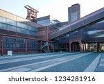 monument  essen  germany  zeche ... | Shutterstock . vector #1234281916