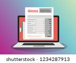 Online Digital Invoice Laptop...