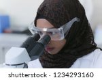 young african muslim female...   Shutterstock . vector #1234293160