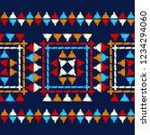 ethnic boho seamless pattern....   Shutterstock .eps vector #1234294060