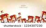 elegant  background with... | Shutterstock .eps vector #1234307230