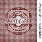 avant garde red geometric...   Shutterstock .eps vector #1234320460