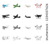 bitmap design of plane and... | Shutterstock . vector #1234337626