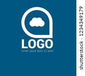 cloud logo concept. designed...