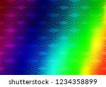 light multicolor  rainbow...   Shutterstock .eps vector #1234358899
