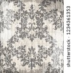 vintage baroque victorian... | Shutterstock .eps vector #1234361353