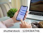alushta  russia   september 28  ... | Shutterstock . vector #1234364746