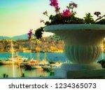 view of aegean sea   Shutterstock . vector #1234365073