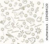 vector seamless pattern ...   Shutterstock .eps vector #1234384120