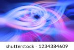 abstract background in blue and ... | Shutterstock . vector #1234384609