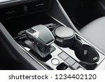 a fragment of the modern car... | Shutterstock . vector #1234402120
