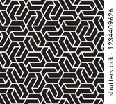 vector seamless stripes pattern.... | Shutterstock .eps vector #1234409626