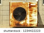 the outdoor unit of air... | Shutterstock . vector #1234422223