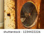 the outdoor unit of air... | Shutterstock . vector #1234422226