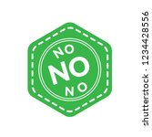 no text icon emblem  label ... | Shutterstock .eps vector #1234428556