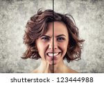 photo of the girl with a... | Shutterstock . vector #123444988