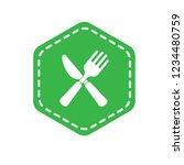 cutlery icon emblem  label ...