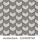 seamless vector pattern.... | Shutterstock .eps vector #1234509769