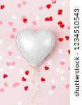 Single Balloon Of Heart Shaped...