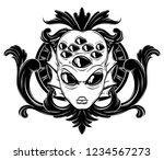 vector hand drawn illustration...   Shutterstock .eps vector #1234567273