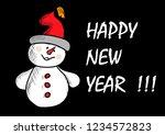 happy new year   Shutterstock .eps vector #1234572823