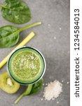 top view of nutritious organic... | Shutterstock . vector #1234584013