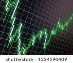 currency chart  trading  forex  ... | Shutterstock . vector #1234590409
