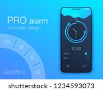 clock application ui design...