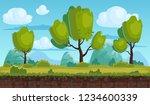 beautiful rural landscape ...   Shutterstock .eps vector #1234600339