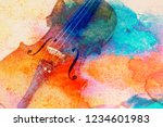 Abstract violin background  ...