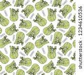 seamless endless pattern of... | Shutterstock .eps vector #1234610536