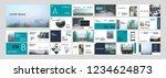 original modern presentation... | Shutterstock .eps vector #1234624873