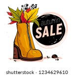 vector hand drawn trendy...   Shutterstock .eps vector #1234629610