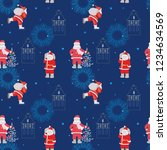 pattern for a wrapping paper ... | Shutterstock .eps vector #1234634569