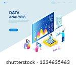 modern flat design isometric...   Shutterstock .eps vector #1234635463