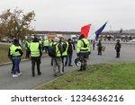 villefranche en beaujolais ... | Shutterstock . vector #1234636216