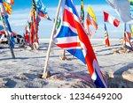 salar de uyuni  bolivia   21...   Shutterstock . vector #1234649200