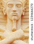 ancient egypt scene.... | Shutterstock . vector #1234666270