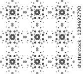 seamless abstract pattern... | Shutterstock . vector #1234692790