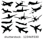 collection of different... | Shutterstock .eps vector #123469330